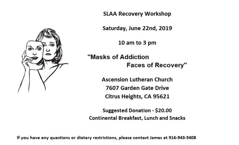 2019 Sobriety Workshop: The Mask of Addiction, Faces of Recovery @ Ascension Lutheran Church